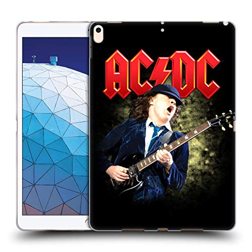 Official AC/DC ACDC Angus Young Guitar Solo Soft Gel Case Compatible for iPad Air (2019)