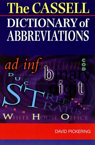Download The Cassell Dictionary Of Abbreviations Book Pdf