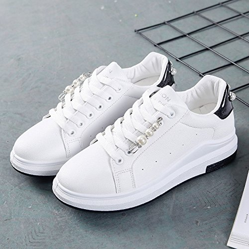 y zapatos Treinta zapatos de GTVERNH deportivos nueve zapatos moda blancos Los estudiantes nueve con de de y suela estudiantesBlancoTreinta aqRRXw6x