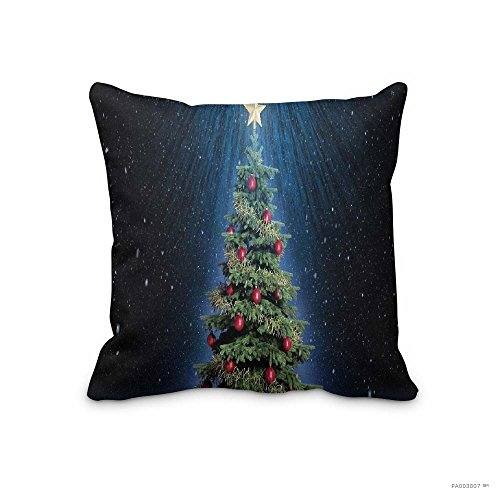 Christmas No-367 Pillowcase Merry Christmas Gifts Cotton Polyester Throw Lumbar Waist Pillow Case Cushion Cover Home Office Decorative - Night Before Falls Online Watch