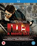 Mission Impossible Quadrilogy Blu-ray - Four Movie Set Includes Ghost Protocol