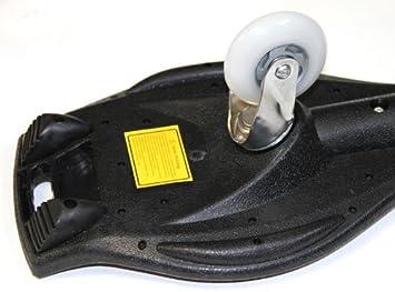 88x23x30 MAXOfit Waveboard Pro XL bis 95 kg mit Tasche und Leuchtrollen