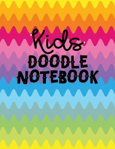 Kids Doodle Notebook: Graph Paper Notebook, 8.5 x 11, 120 Grid Lined Pages (1/4 Inch Squares)