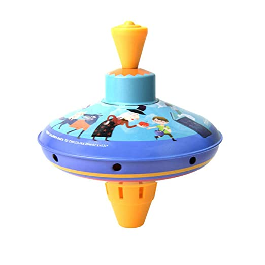 Auplew Spinning Top Toys Metal Colorido Spinning Top Toys Spinning ...