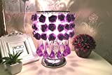 Super PP European minimalist new knot table lamp marriage art furnishings home honey lamp lu1231044py ( Color : Purple )
