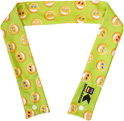 KOOLGATOR Cooling Neck Wrap- Not Packaged - Happy/Smiles ()