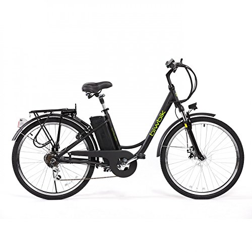 Bicicleta ELECTRICA Mod. Sunray 200 BATERIA Ion Litio 36V10AH (Negro) product image