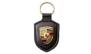 Amazon.fr   Porsche Porte-Clés Armoiries Cuir Noir, WAP0500900E 8d551a23c4f