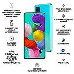 Samsung Galaxy A51 (Blue, 8GB RAM, 128GB Storage) with No Cost EMI/Additional Exchange Offers