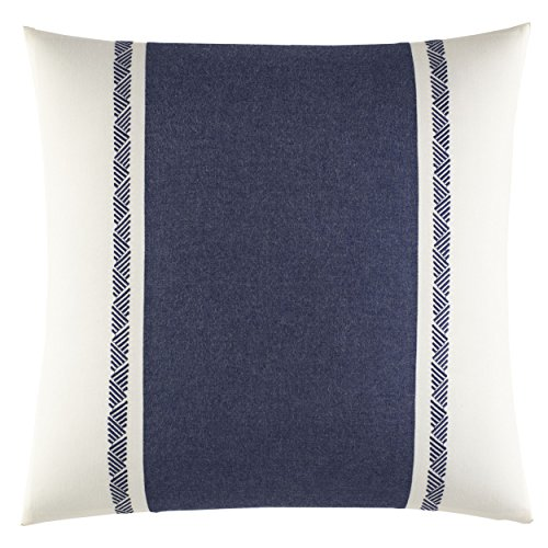Nautica 220524 Cunningham Decorative Pillow, Navy, 16x16