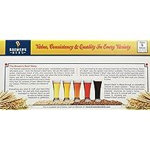 Home Brew Ohio HOZQ8-1382 Best Belgian IPA Beer Ingredient Kit, Yellow
