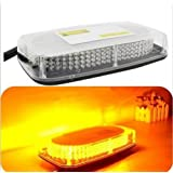 12V 240 LEDs Light Bar Roof Top Emergency Beacon Warning Flash Strobe Yellow Amber