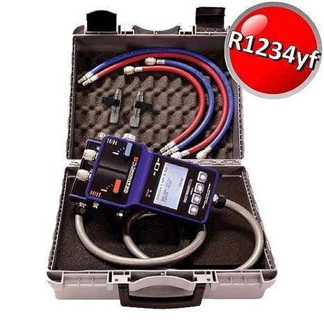 ideatronic CS - Sistema móvil industrial para vacío y carga instalaciones R1234yf R134 a: Amazon.es: Bricolaje y herramientas