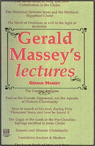 Book — GERALD MASSEY'S LECTURES