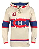 NHL Montreal Canadiens Patrick Roy Men's Player Lacer Name & Number Hoodie, X-Large, Multicolor