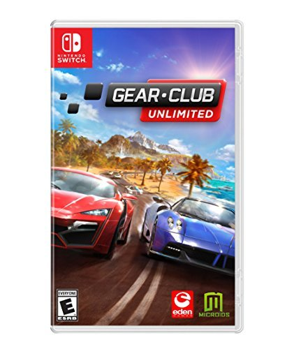 Gear.Club Unlimited - Nintendo Switch (Best Nintendo Racing Games)