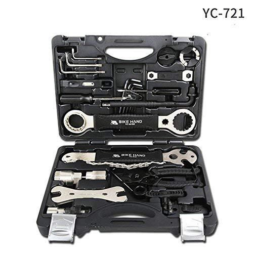Bike Hand CQJDG Multifunctional Bicycle Repair Tool Kits YC-721 Professional Bike Tool Box Shop Tool Set Cycling Repair…