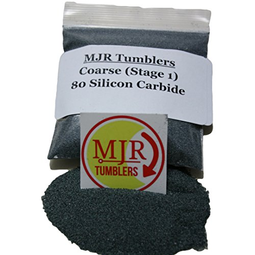 MJR Tumblers 5 lb Silicon Carbide 80 Rock Grit by MJR Tumblers