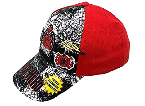Marvel Gorras de béisbol para niños Official Disney Spiderman/Star ...