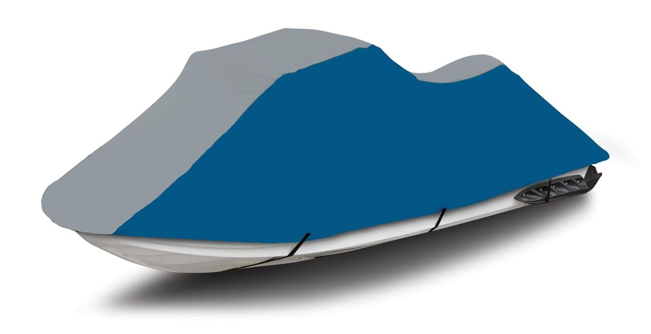 ブルー/グレー600デニールジェットスキーPWCカバーFits Yamaha Wave Runner XL 700 1999 – 2003 2004   B00E5MCUGQ