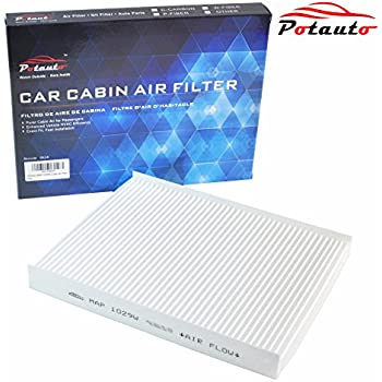 POTAUTO MAP 1029W Cabin Air Filter Replacement compatible with HYUNDAI, Santa Fe, KIA, Sorento