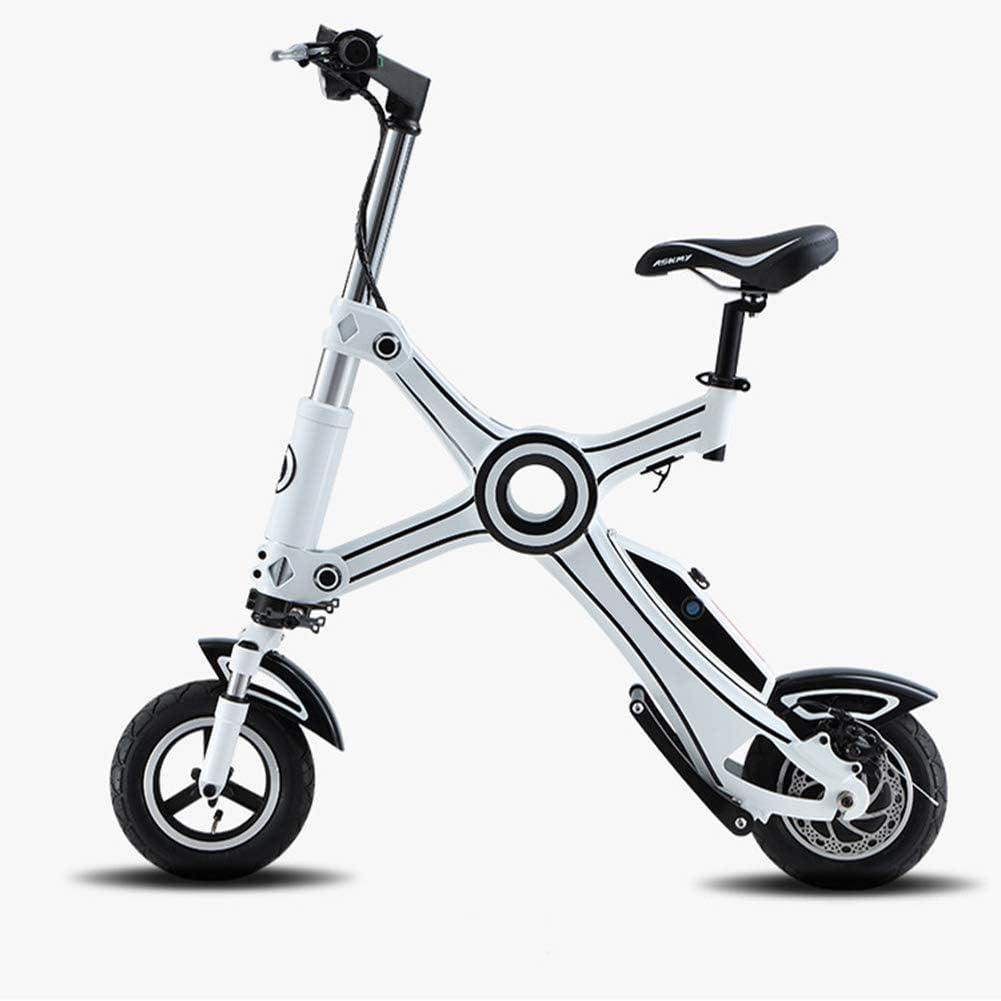 Caogena Bicicleta eléctrica Tipo X - Scooter, Cuerpo Plegable ...
