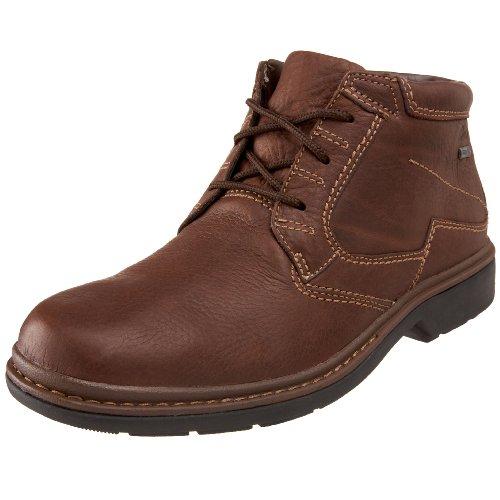 CLARKS Men's Rockie Hi GTX Boot,Brown,8.5 M