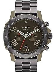 Nixon Unisex Ranger Chrono Sage/Gunmetal Watch