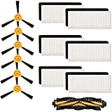Kit de Accesorios de Repuesto para Ouxinli   Filtro, Cepillo Principal, Cepillo Lateral para Ecovacs   Deebot N79S N79 para A