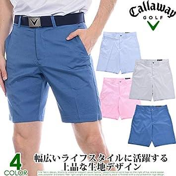 Callaway Mens Flat Front Oxford Short