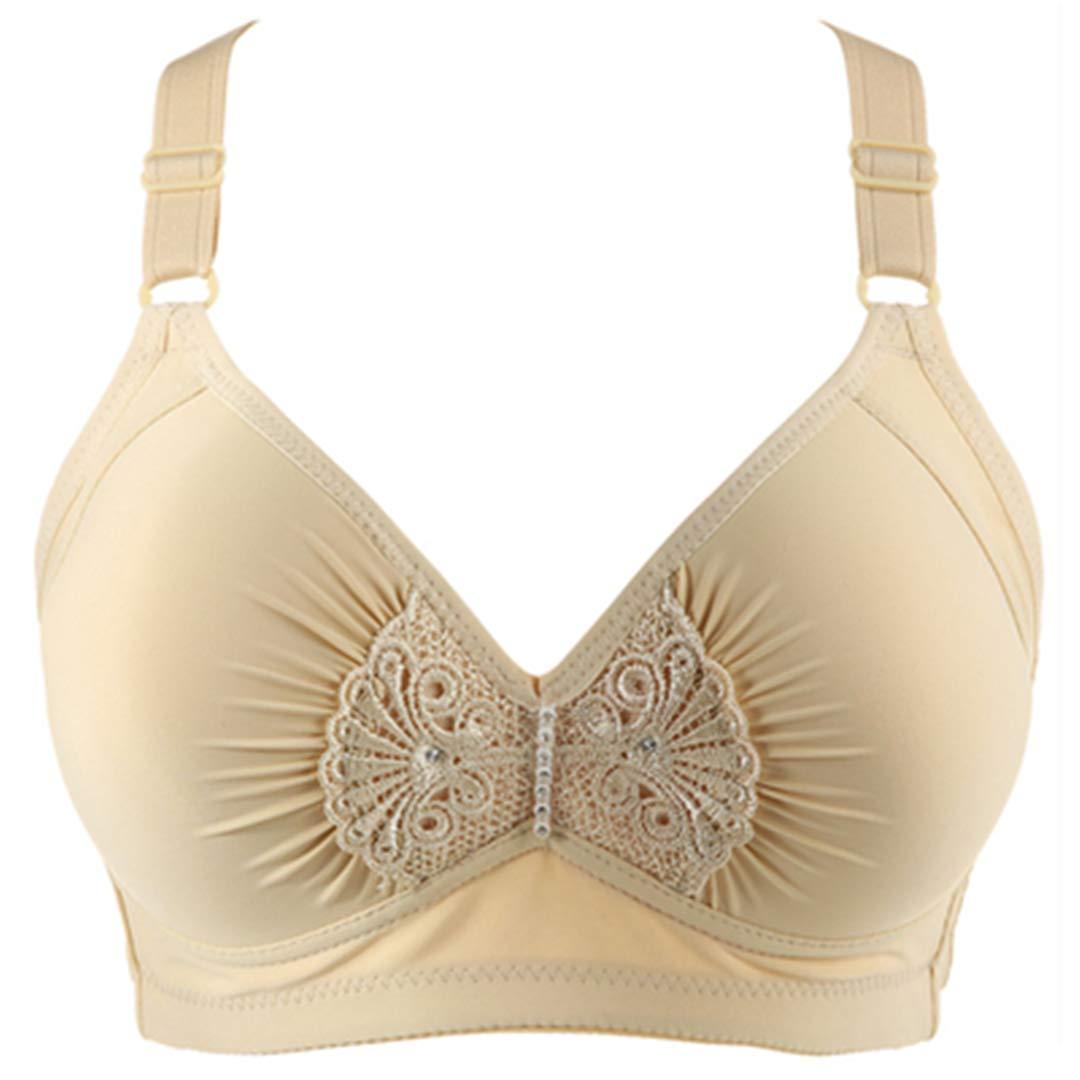 underwear No Rims Bras Women Size 95 42 BCD Thin Wireless Bra Push Up Full Cup Womens Lingeries Lavender C 40