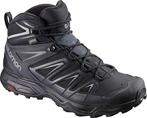 Salomon Men's X Ultra 3 Mid GTX Hiking Boot, Black, 11.5 M US (Best Hiking Boots Review)