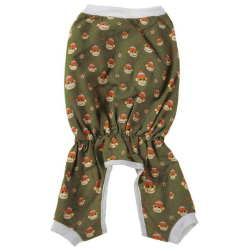 Monkey Business Dog Pajamas Size: Medium (16'' H x 11.5'' W x 0.25'' D), Style: Ty by East Side Collection (Image #2)