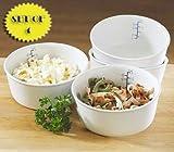 Ceramic Portion Control Bowls