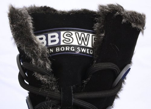 01 Damen Borg Björn Schuhe Schwarz Watson Schwarz Stiefel vpFPIq
