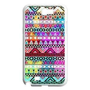 COMEON Diy Phone Case Aztec Tribal Pattern For Samsung Galaxy Note 2 N7100