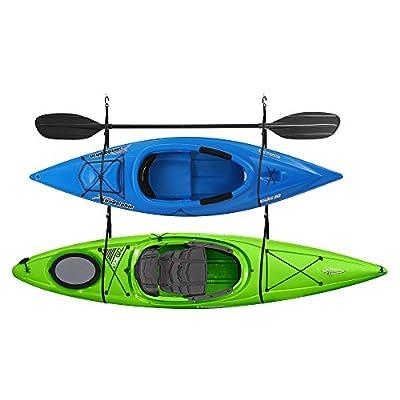 RAD Sportz Garage Canoe 100 lb Capacity Double Kayak Storage Strap