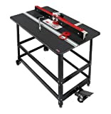 Woodpeckers Precision Woodworking Tools PRP-4-V2420 Premium Router Package with 27-Inch x 43-Inch Phenolic for Porter Cable 7518 and 7519