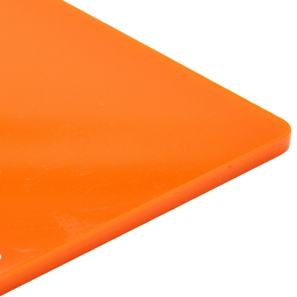 3mm Perspex Carrot Orange Gloss Cast Acrylic Plastic Sheet 16 SIZES TO CHOOSE(297mm x 210mm / A4) Sign Materials Direct