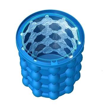 Fabricante de cubitos de hielo Moldes para cubos de hielo de silicona Fabricación de hielo Completo