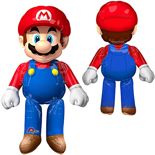 Mario Brothers Air Walker Balloon - Animated Birthday Party