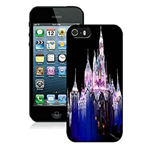 New Fashion Design Hard Protect Skin Case Cover Shell for Mobile Cell Phone Apple Iphone 5/ 5S-Merry Christmas,Disney iPhone 5 5S Case 1 Black