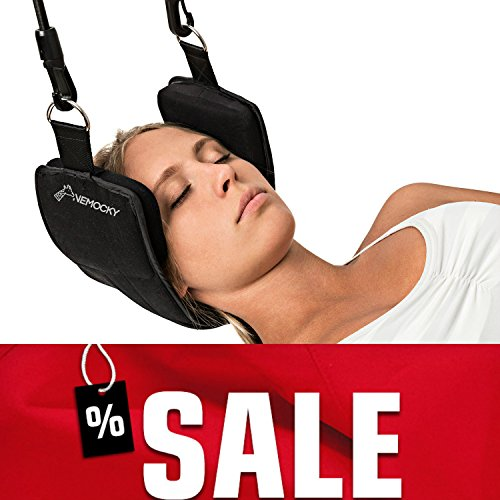 Head Hammock for Neck Pain Relief - Cervical Neck Traction Device - Neck Stretcher by Nemocky