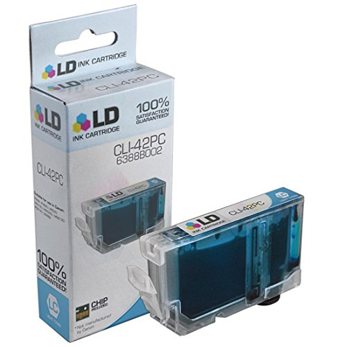 LD © Compatible Replacement for Canon 6388B002 / CLI-42PC Photo Cyan Inkjet Cartridge for use in Canon PIXMA PRO-100 Printer