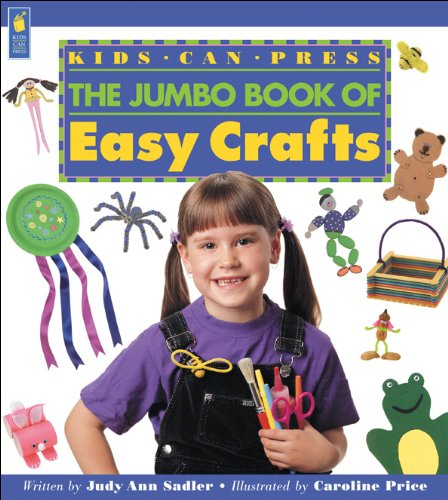 Download Jumbo Book of Easy Crafts, The (Jumbo Books) PDF