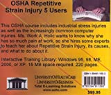 OSHA Repetitive Strain Injury, 5 Users, Farb, Daniel and Gordon, Bruce, 1594911592