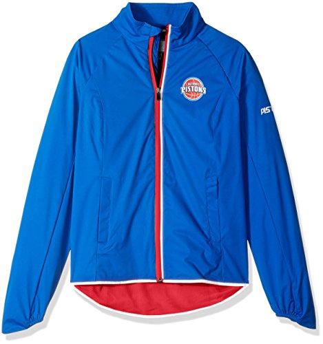 - GIII For Her NBA Detroit Pistons Women's Batter Light Weight Full Zip Jacket, XX-Large, Royal