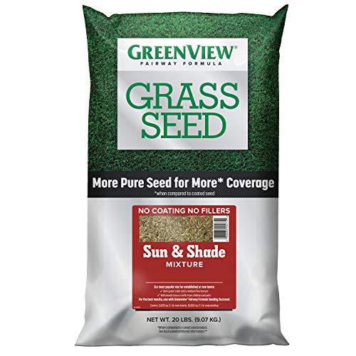 GreenView 2829338 Fairway Formula Grass Seed Sun & Shade Mixture, 20 lb.