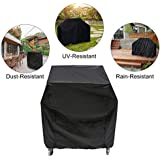 Essort Grill Covers, Waterproof BBQ Cover, Gas Charcoal Barbeque Grill Protector, Heavy Duty Gas BBQ Grill Cover for Outdoor, 31.5''x25.98''x39.37''