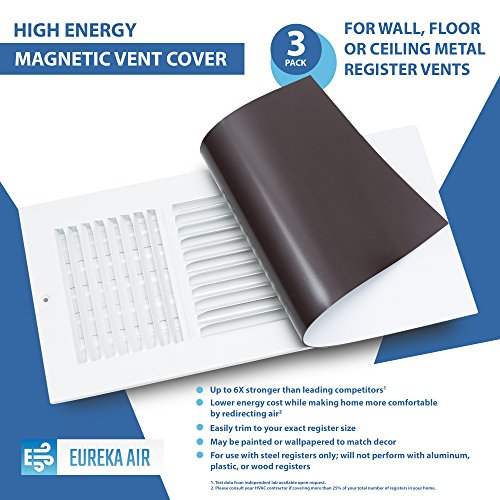 Eureka Air High Energy Magnetic Vent Cover - 3 Pack (8'' X 15.5'') by Eureka Air (Image #5)
